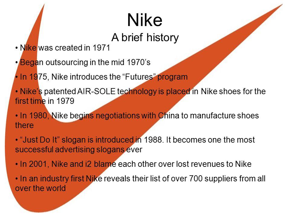 Virtual Supply Chains A Look at Nike Presenters: Owen Tucker Eric