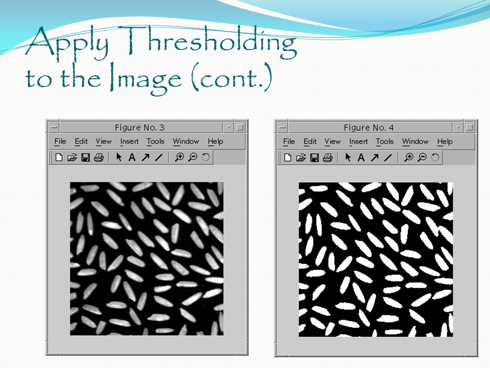 Apply Thresholding to the Image (cont.)