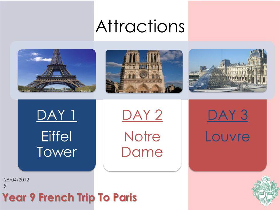 4 Year 9 French Trip To Paris Travel