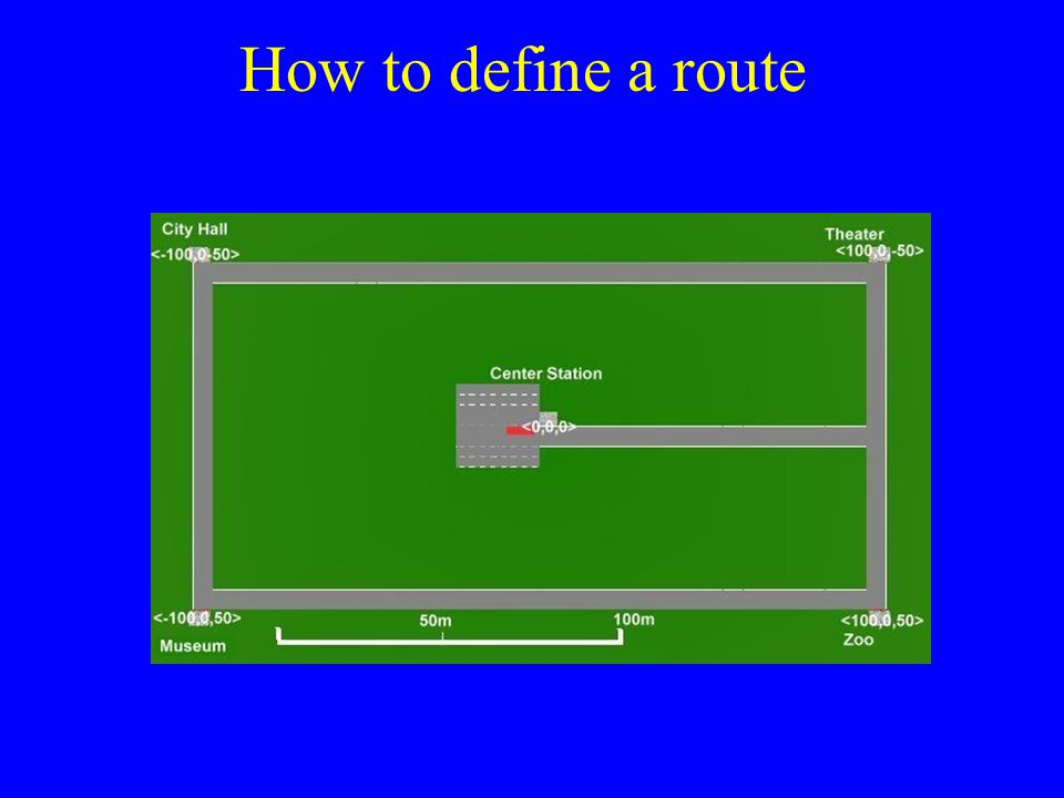 How to define a route