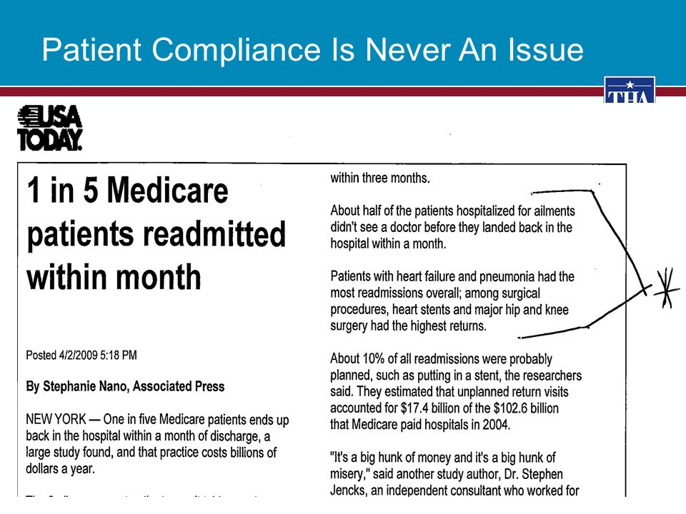 Patient Compliance Is Never An Issue 12
