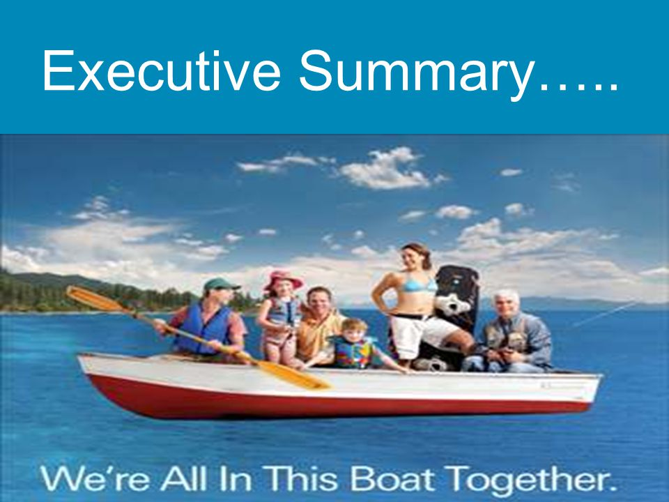 Executive Summary…..