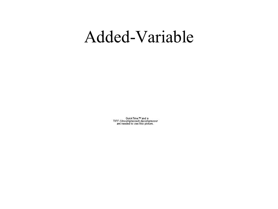 Added-Variable