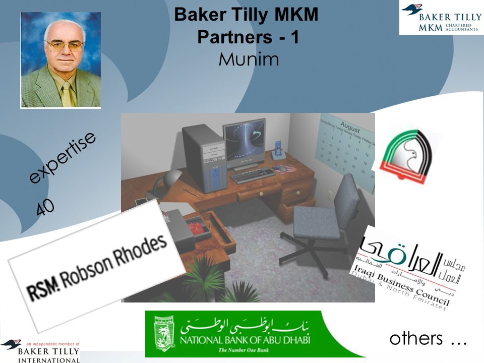 Baker Tilly MKM Partners - 1 Munim expertise 40 others …