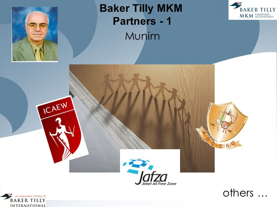 Baker Tilly MKM Partners - 1 Munim others …