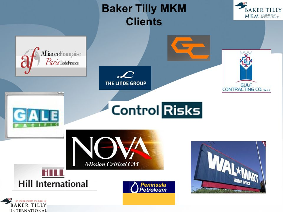 Baker Tilly MKM Clients