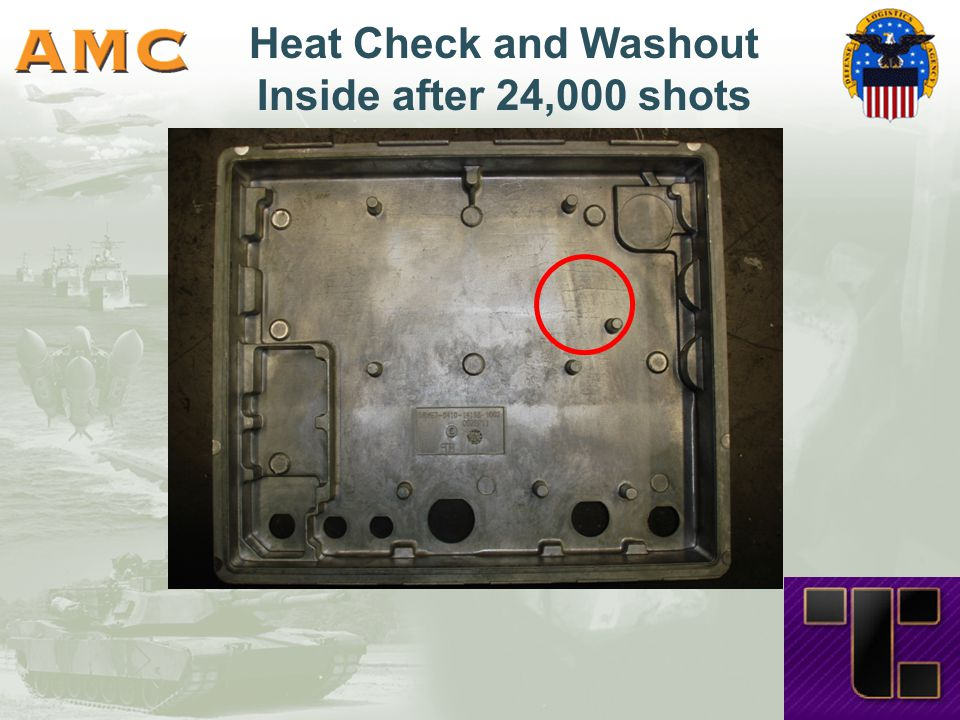 Heat Check and Washout Inside after 24,000 shots