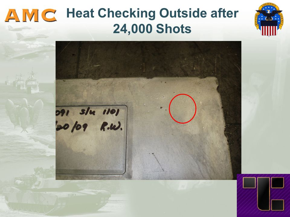 Heat Checking Outside after 24,000 Shots