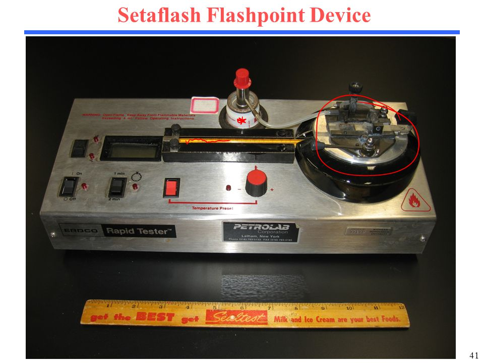41 Setaflash Flashpoint Device