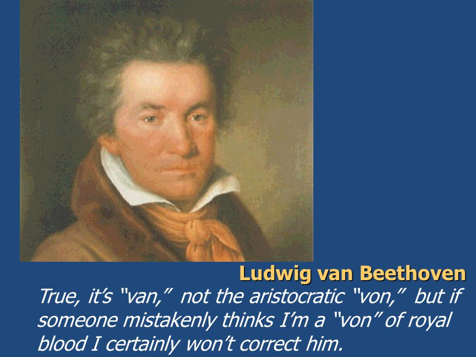 Beethoven did not succumb to this, the gravest of a musician's ills.