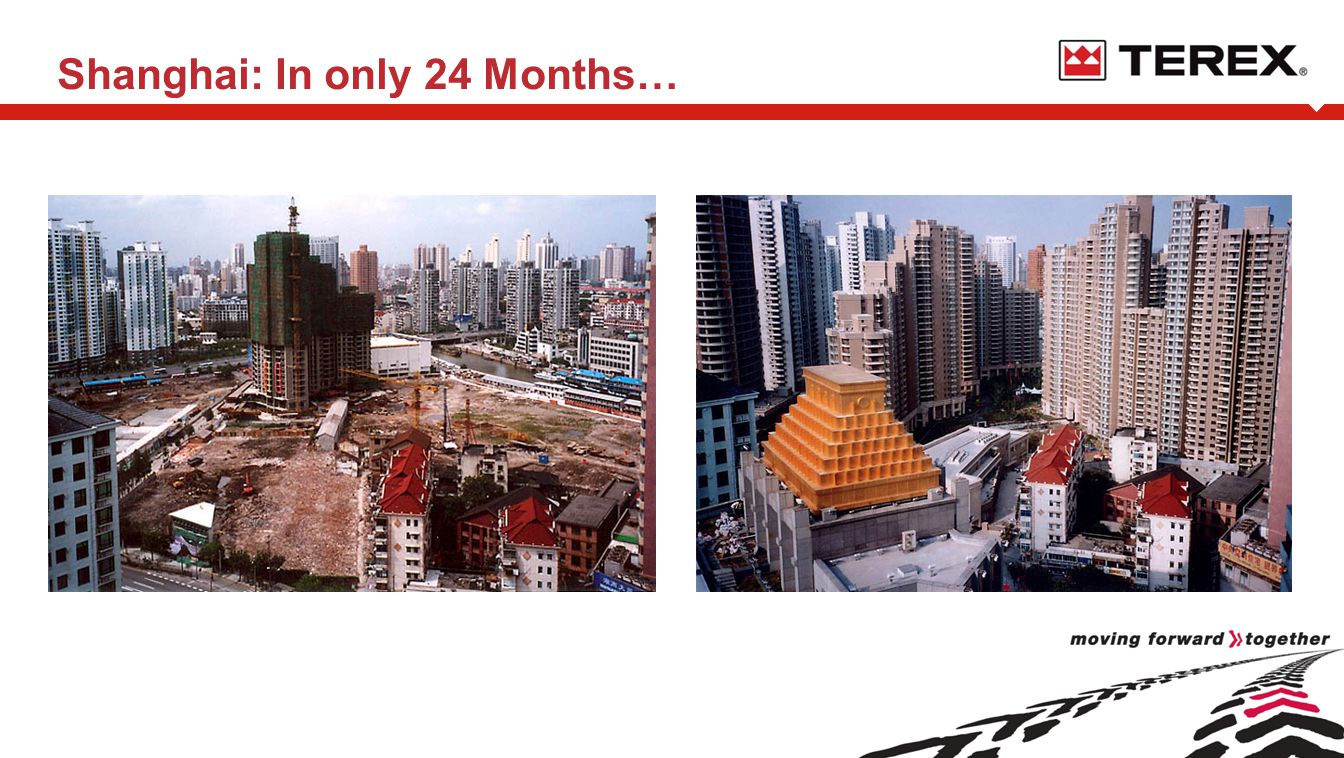 Shanghai: In only 24 Months…