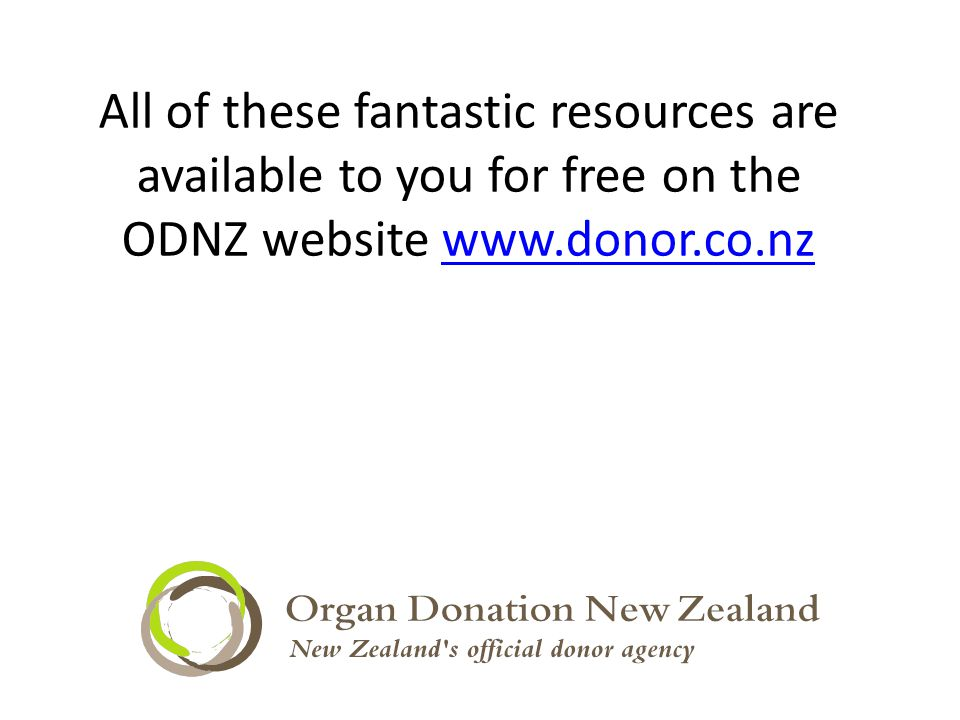 All of these fantastic resources are available to you for free on the ODNZ website
