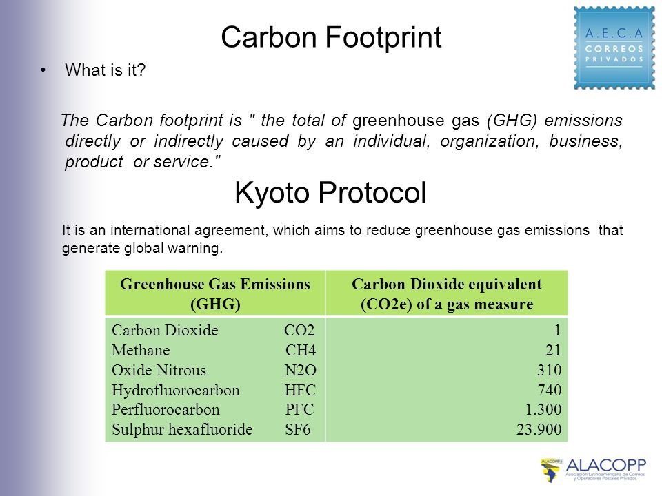 Carbon Footprint What is it.
