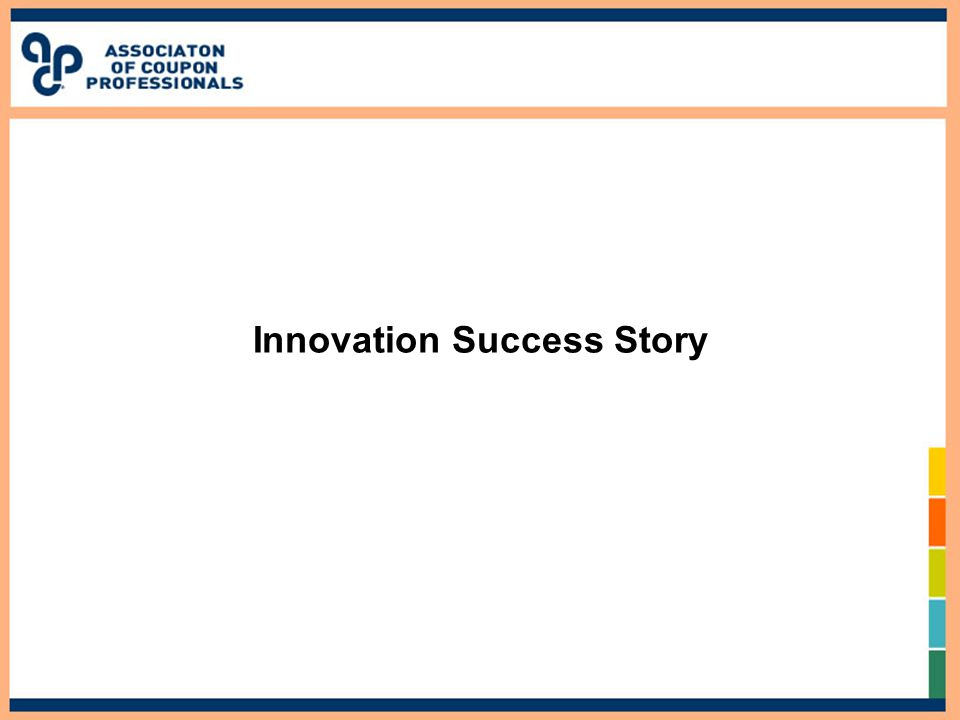 Innovation Success Story