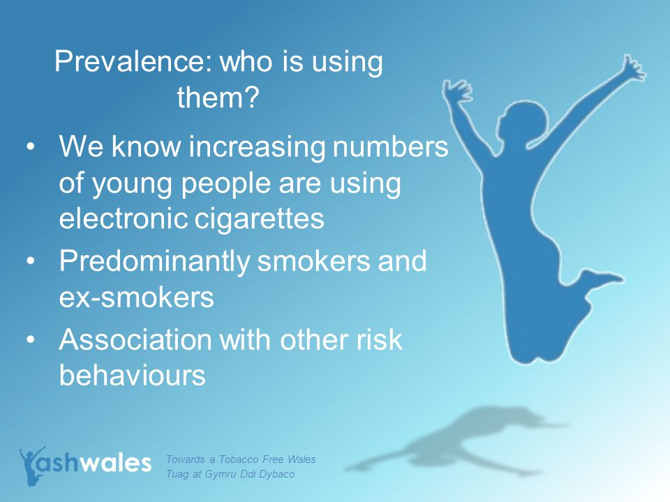 Prevalence: who is using them.