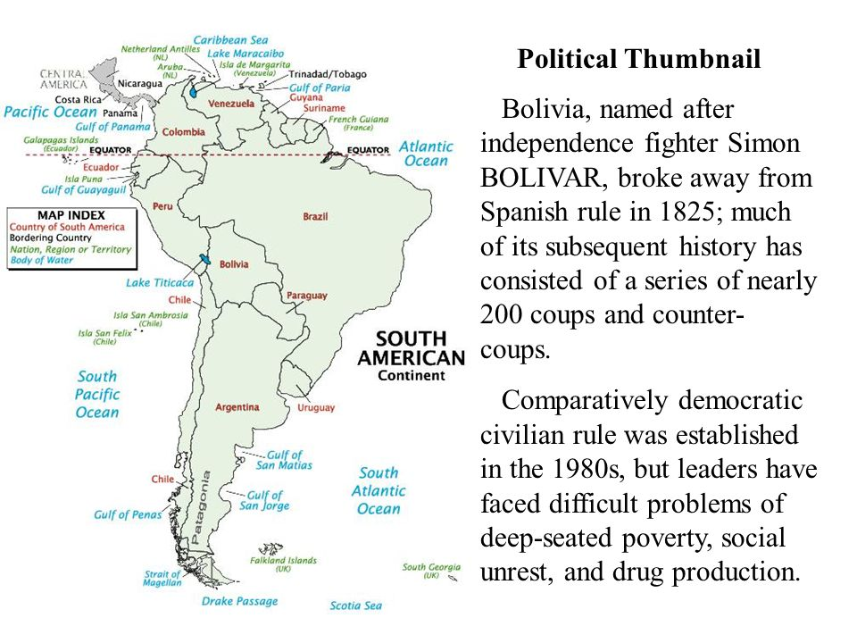 what is bolivia named after