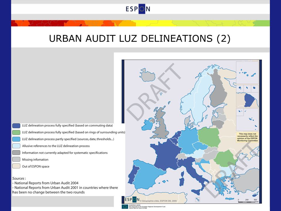 URBAN AUDIT LUZ DELINEATIONS (2)