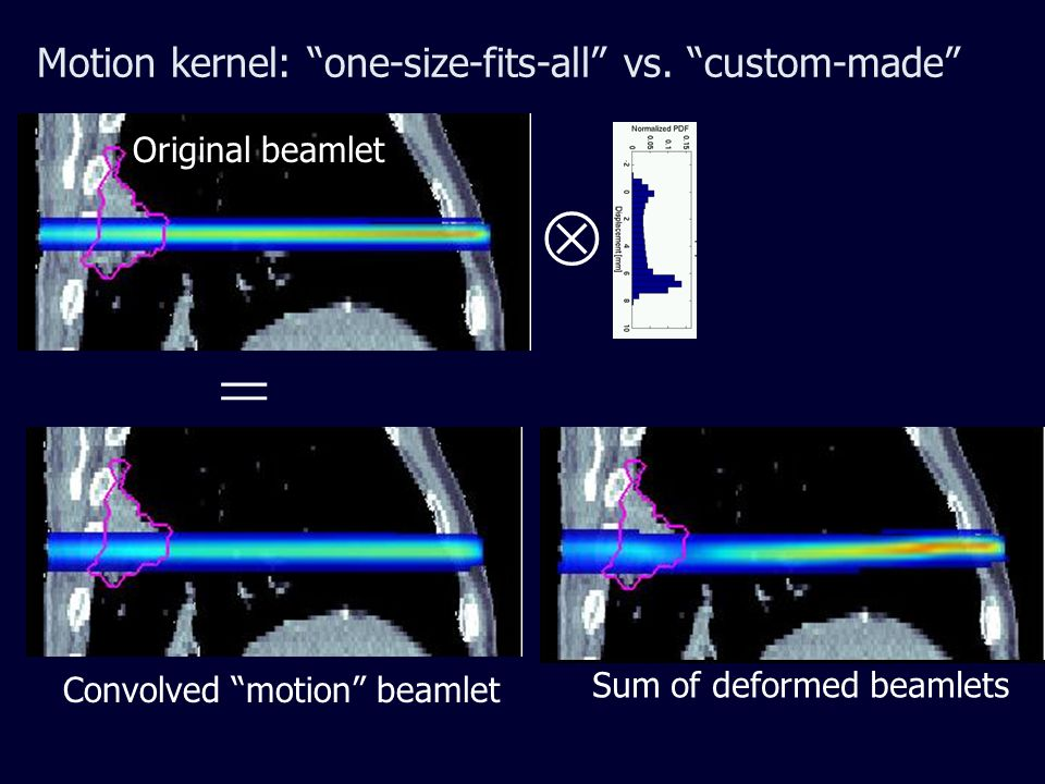 Motion kernel: one-size-fits-all vs.