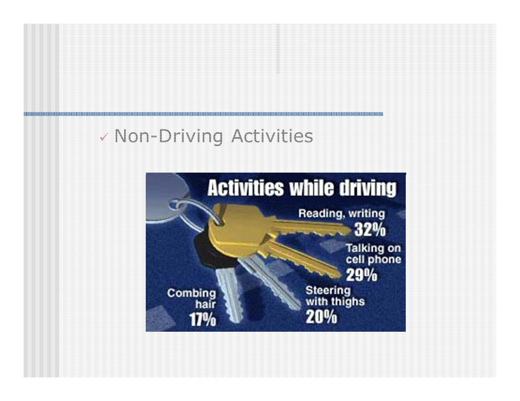 Non-Driving Activities