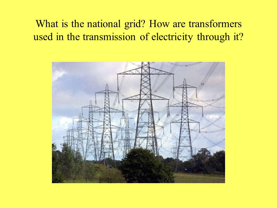 Explain how a power station works