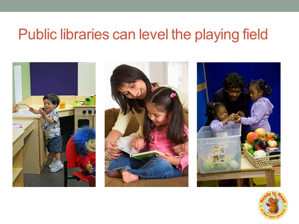 Public libraries can level the playing field