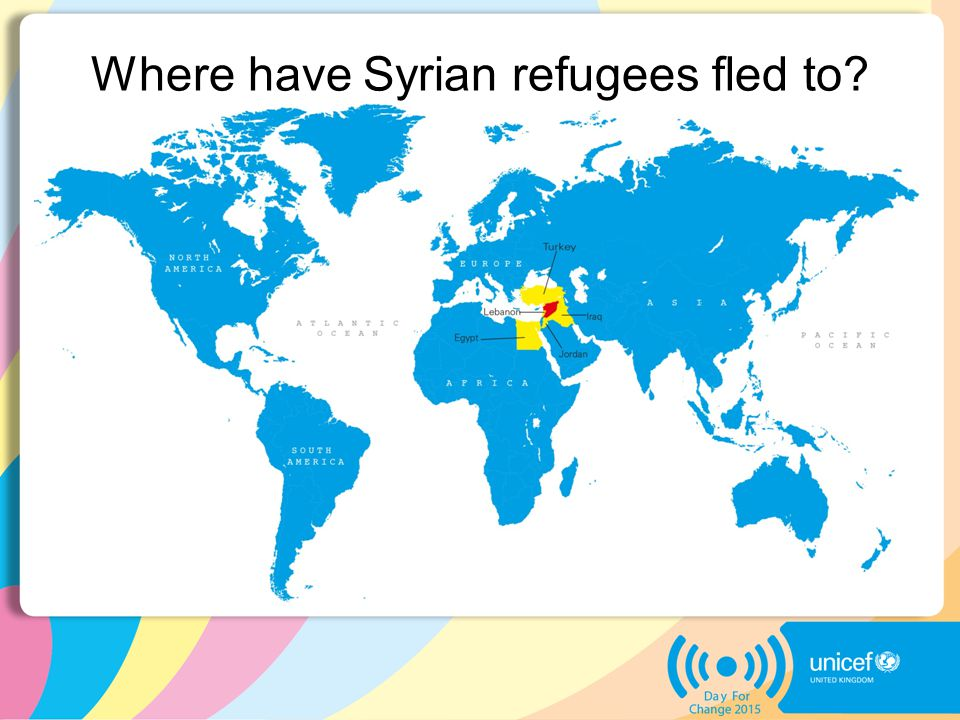 Where have Syrian refugees fled to