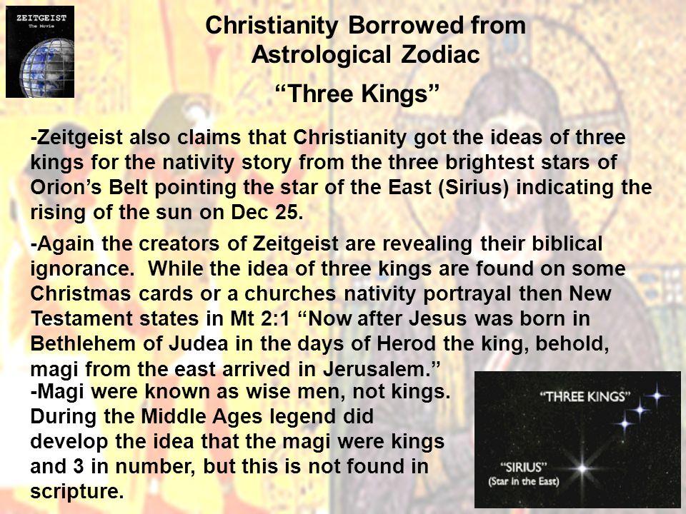 christianity astrology zeitgeist
