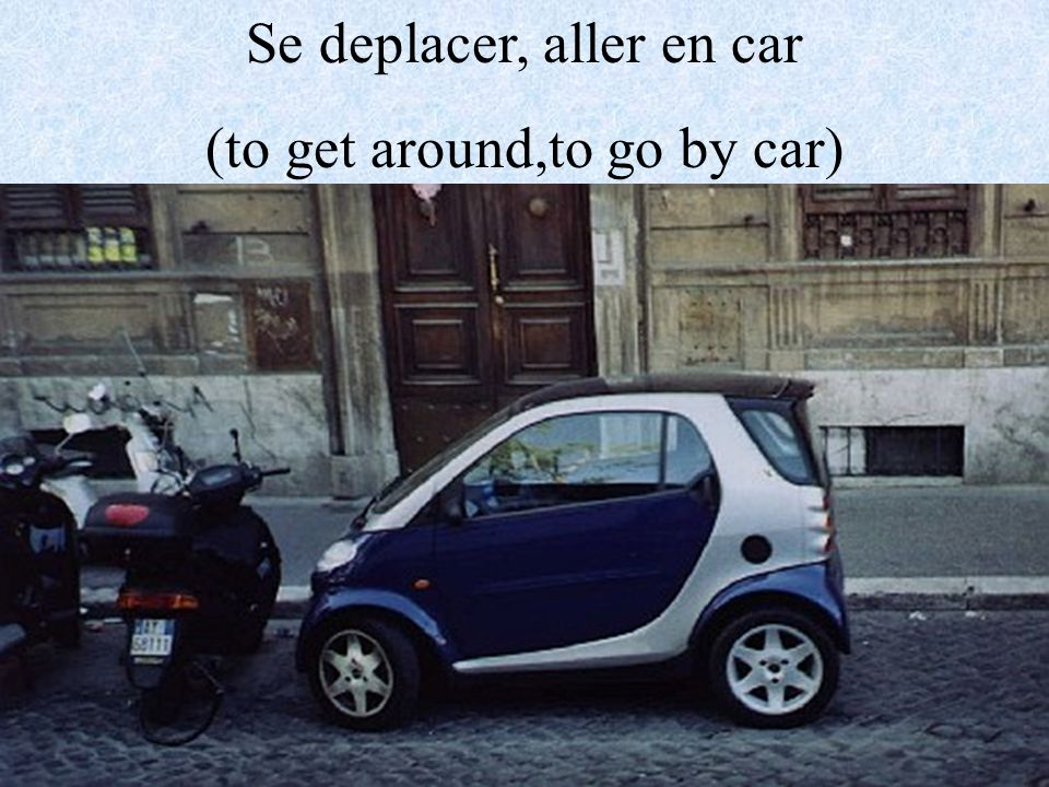 Se deplacer, aller en auto-bus (to get around,to go by bus)