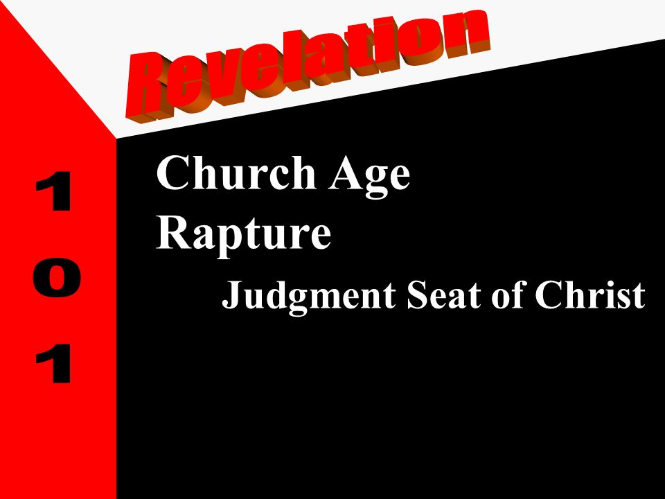 Church Age Rapture Judgment Seat of Christ