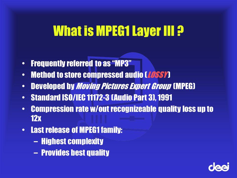 DECODEUR 3 LAYER MP3 MPEG-1 TÉLÉCHARGER