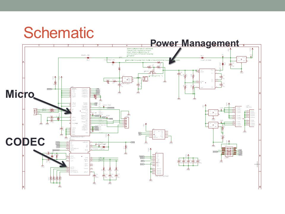 Schematic Power Management Micro CODEC