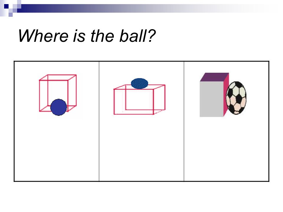 Where is the ball