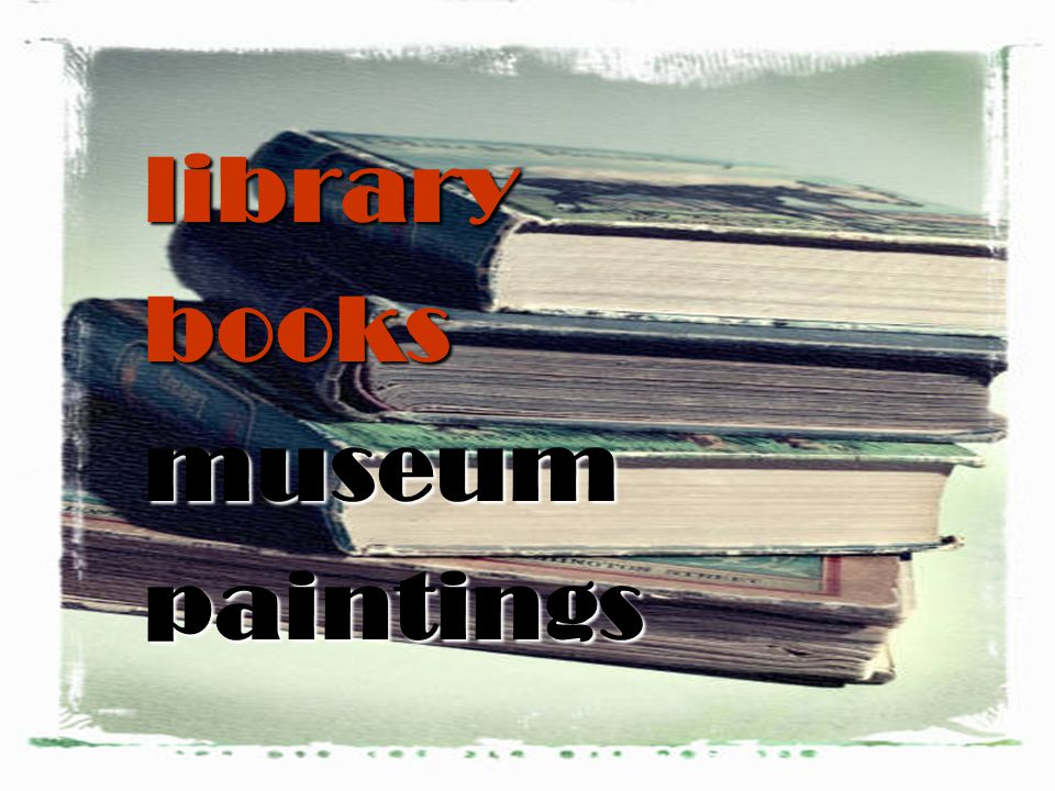 librarybooksmuseumpaintings
