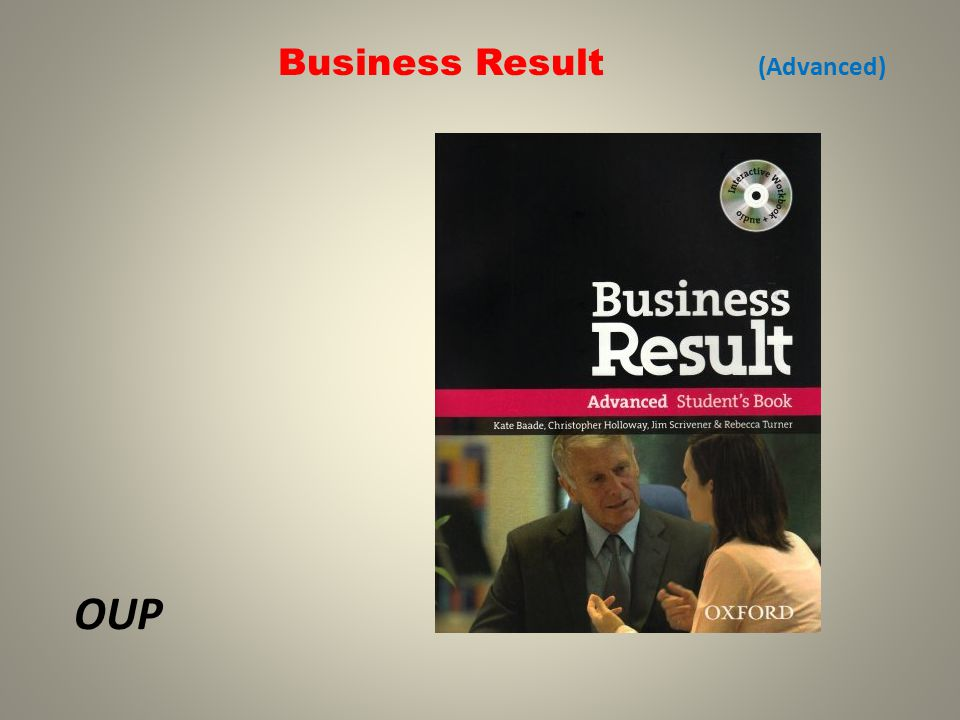 Business Result (Advanced) OUP