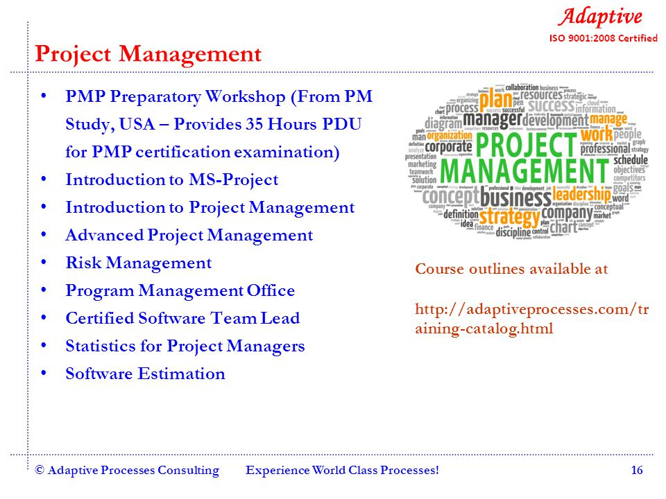 Quality Consulting Adaptive Competency Development Services