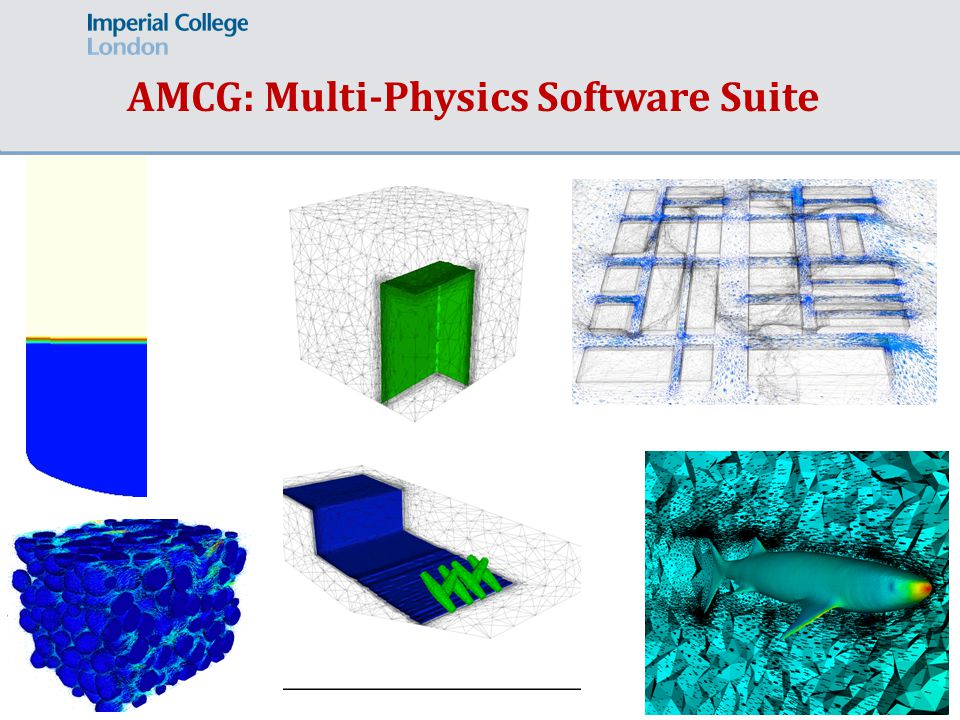 Page 4 AMCG: Multi-Physics Software Suite