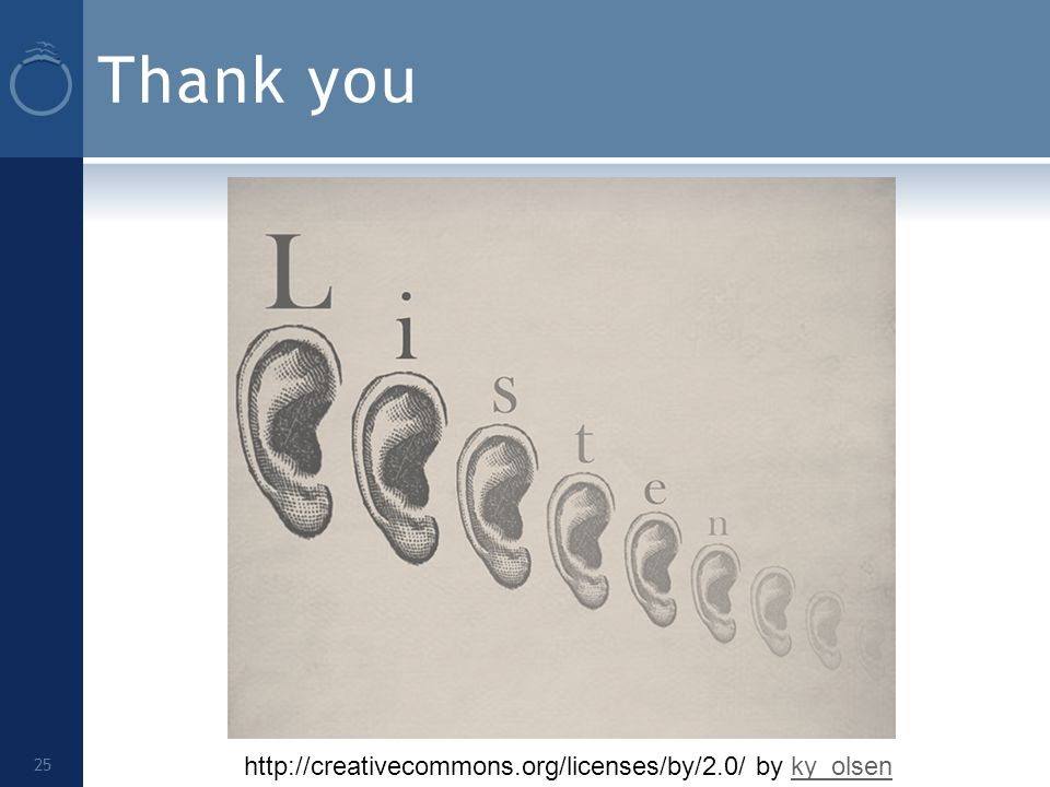 Thank you 25 http://creativecommons.org/licenses/by/2.0/ by ky_olsenky_olsen
