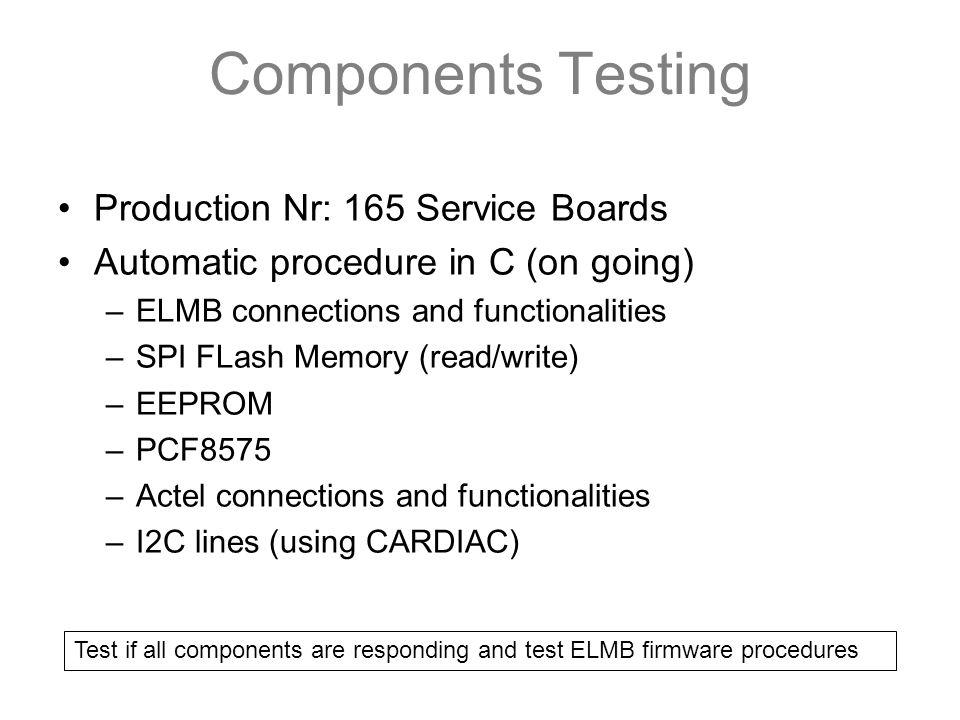 Service Board Production Test Rafael Nobrega LHCb Roma1  - ppt download