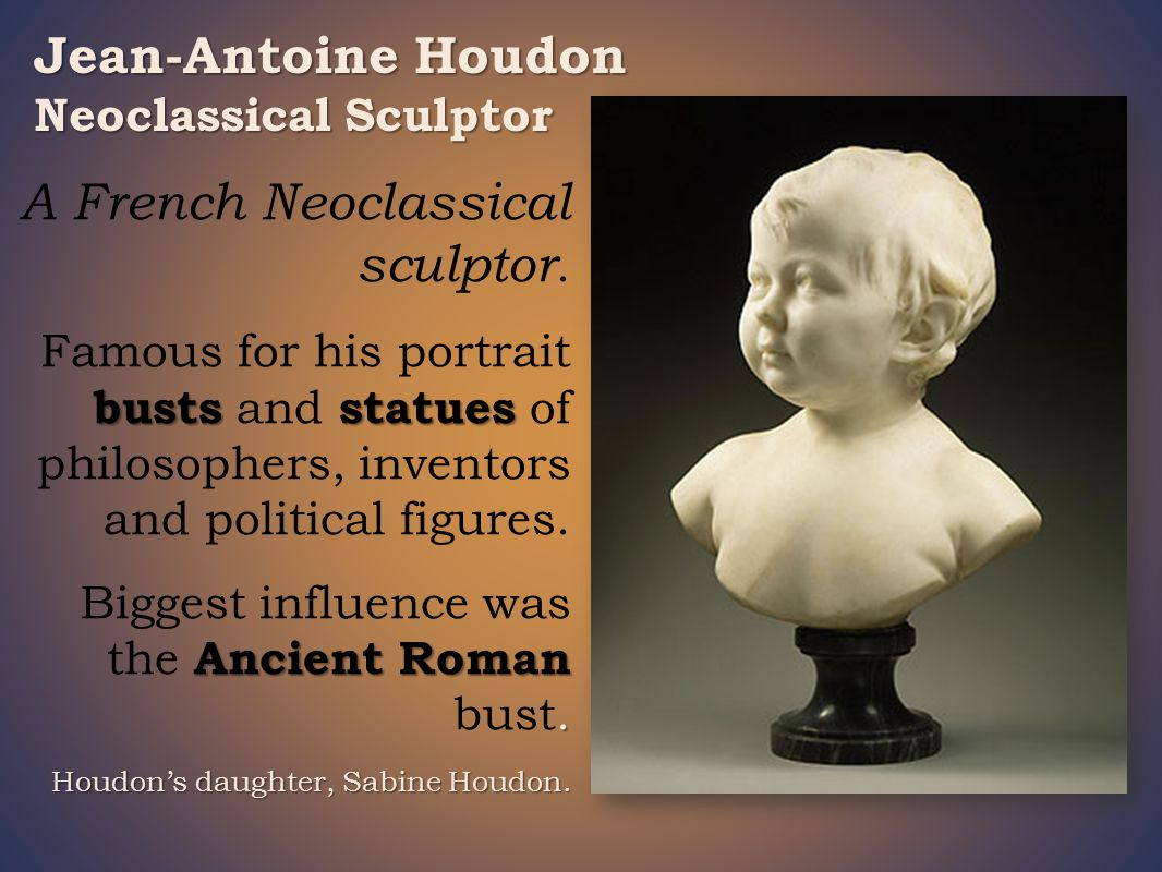 A French Neoclassical sculptor.
