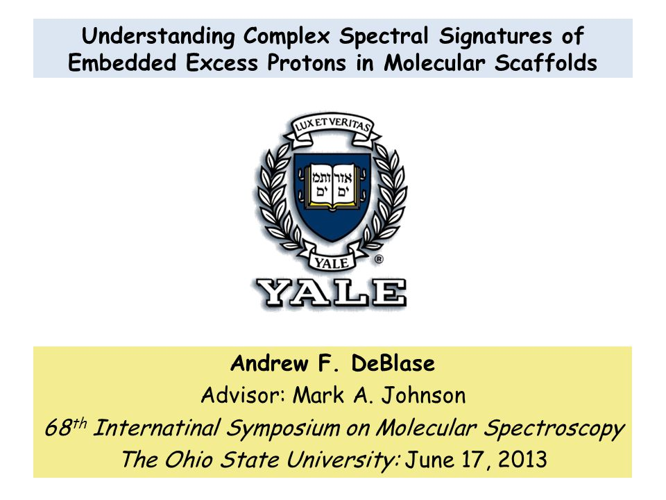 Understanding Complex Spectral Signatures of Embedded Excess Protons in Molecular Scaffolds Andrew F.