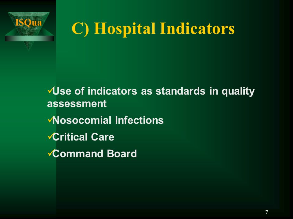 6 Indicators for basic management and monitoring. Maternal and Child health Indicators.