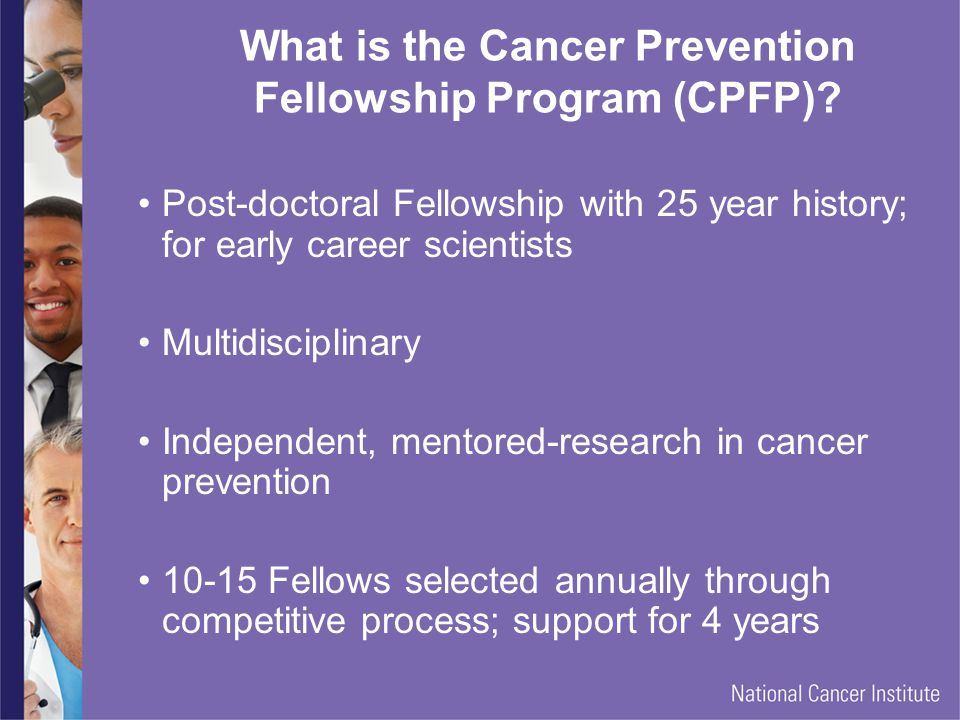 What is the Cancer Prevention Fellowship Program (CPFP).