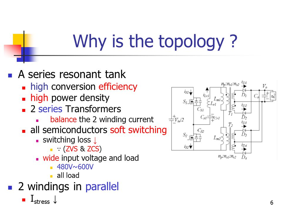 6 Why is the topology .