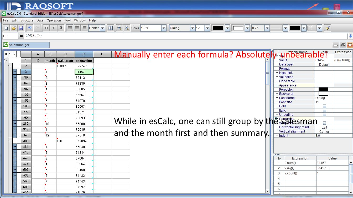 Workbooks copy formulas between workbooks : esCalc Introduction A brand-new desktop BI tool - ppt download