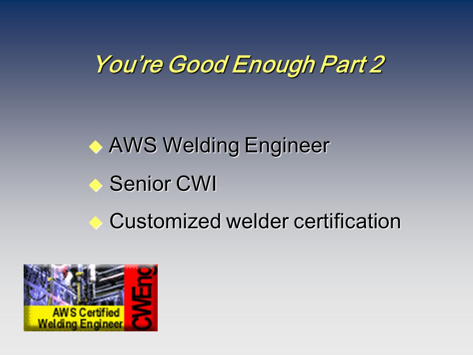 This Is Aws American Welding Society A Visit With The Worlds