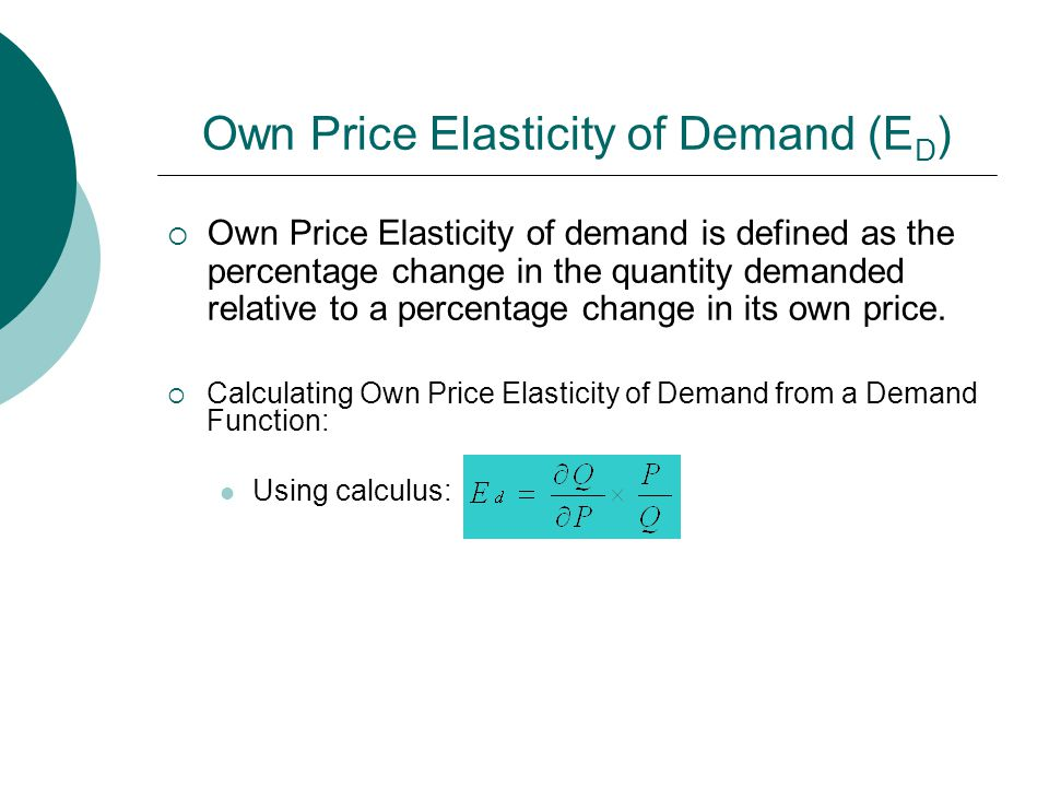 Aaec 3315 Agricultural Price Theory Chapter 3 Market Demand And