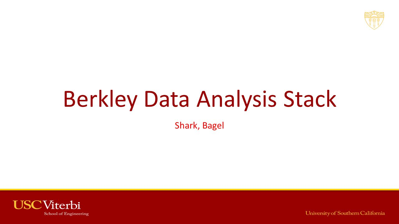 Berkley Data Analysis Stack Shark, Bagel