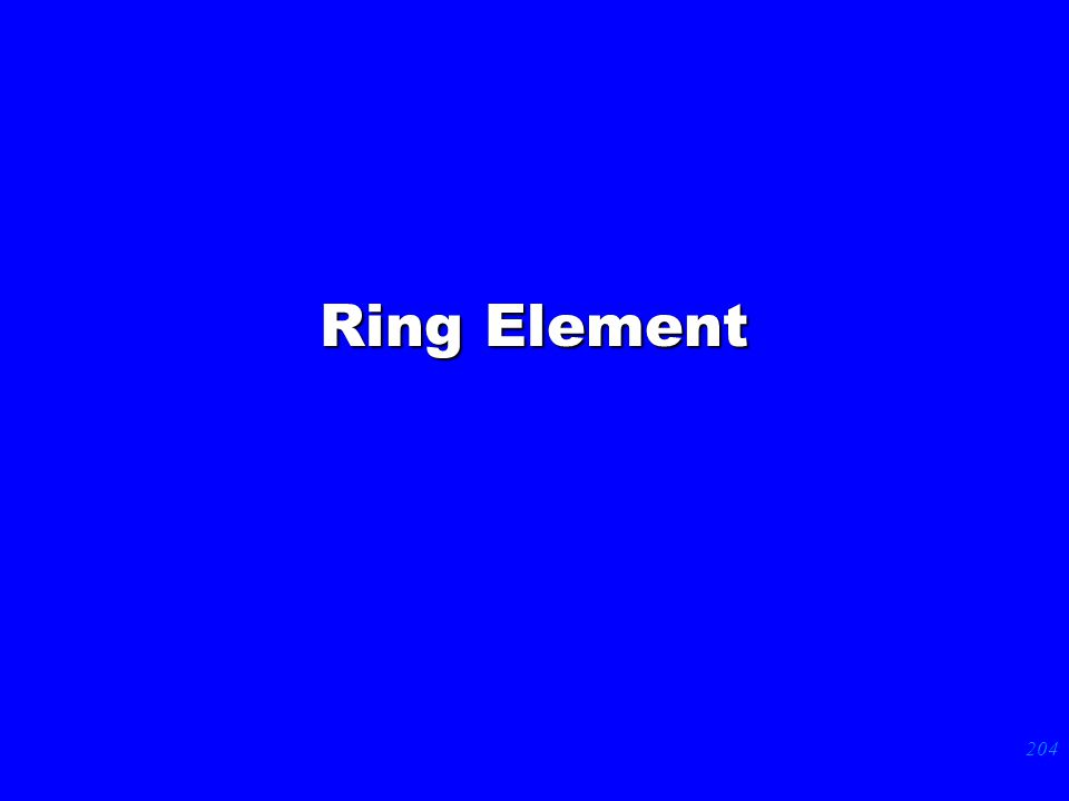 204 Ring Element