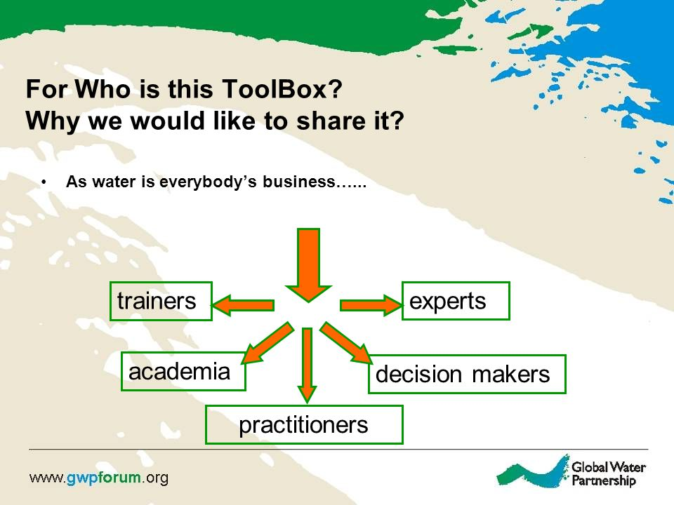 For Who is this ToolBox. Why we would like to share it.