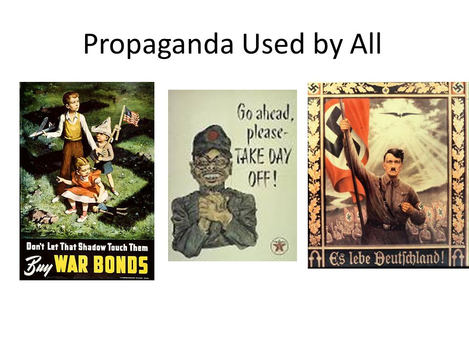 Propaganda Used by All